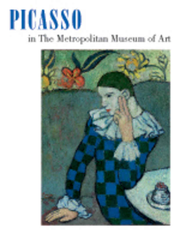 "poster for ""Picasso in The Metropolitan Museum of Art"" Exhibition"