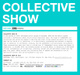 "poster for ""COLLECTIVE SHOW NYC 2010"" Exhibition"