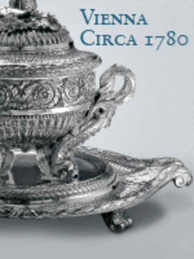 "poster for ""Vienna Circa 1780: An Imperial Silver Service Rediscovered"" Exhibition"