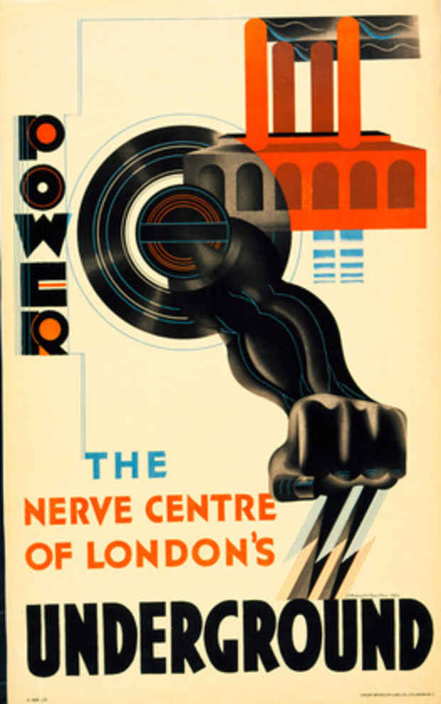 "poster for ""Underground Gallery: London Transport Posters 1920s–1940s"" Exhibition"