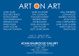 "poster for ""Art on Art"" Exhibition"