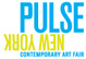 "poster for ""Pulse New York"" Contemporary Art Fair"