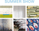 "poster for ""Summer Show"" Exhibition"