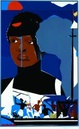 "poster for Romare Bearden ""The Soul of Blackness/A Centennial Tribute"""