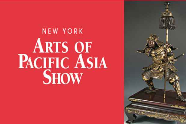 "poster for ""Arts of Pacific Asia Show"""