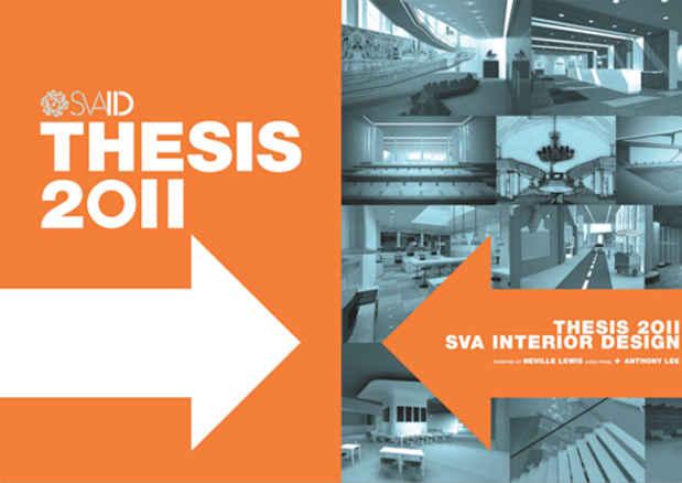 NYAB Event BFA Interior Design Department Thesis Exhibition