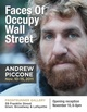 "poster for Andrew Piccone ""Faces Of Occupy Wall Street"""