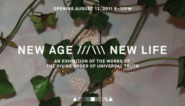 "poster for Morgan Silver-Greenberg ""NEW AGE ///\\\ NEW LIFE"""