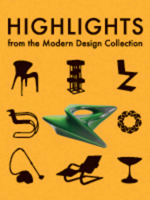 "poster for ""Highlights from the Modern Design Collection, 1900 to the Present, Part II"" Exhibition"