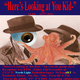 "poster for ""Here's Looking at You, Kid-"" Exhibition"