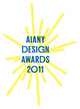 "poster for ""AIANY Design Awards 2011"" Exhibition"