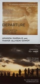 "poster for Amanda Marsalis and Thayer Allyson Gowdy ""Departure"""