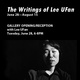 "poster for ""The Writings of Lee UFan"" Exhibition"