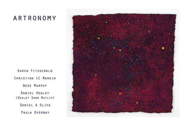 "poster for ""Artronomy"" Exhibition"