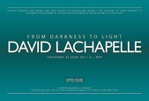 poster for David LaChapelle