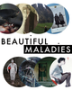 "poster for ""Beautiful Maladies"" Exhibition"