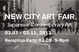 "poster for ""New City"" Art Fair"