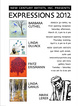 "poster for ""New Expressions '12"" Exhibition"