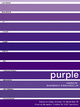 "poster for ""Purple"" Exhibition"