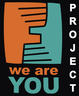 "poster for ""We are you project"" Exhibition"