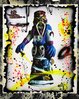 "poster for Rammellzee ""The RAMMELLZEE Galaxseum"""
