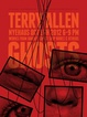 poster for Terry Allen Exhibition