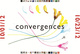 "poster for ""Convergences"" Exhibition"