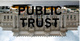 "poster for ""Public Trust"" Exhibition"