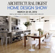 poster for Architectural Digest Home Design Show