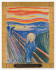 "poster for Edvard Munch ""The Scream"""