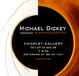 poster for Michael Dickey 'Ceramics""