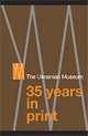 "poster for ""The Ukrainian Museum: 35 Years in Print"" Exhibition"