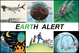 "poster for ""Earth Alert - INX Artists and the Environment"" Exhibition"