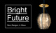 "poster for ""Bright Future: New Designs in Glass"" Exhibition"