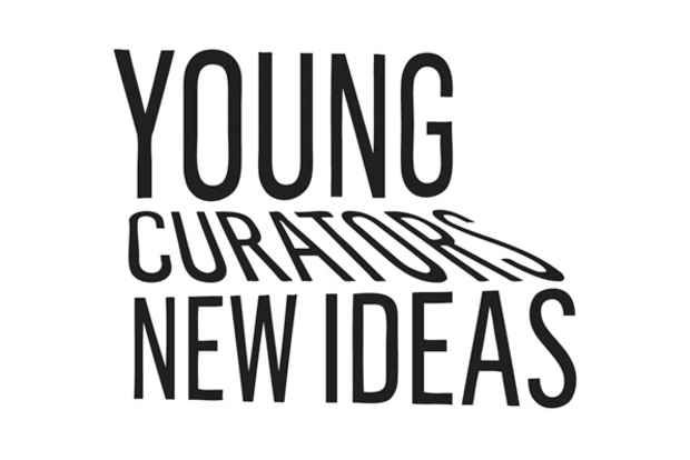"poster for ""Young Curators, New Ideas IV"" Exhibition"