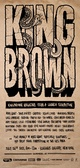 "poster for ""Kingbrown Magazine, Edition #8"" Exhibition"