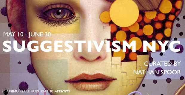 "poster for ""Suggestivism NYC"" Exhibition"