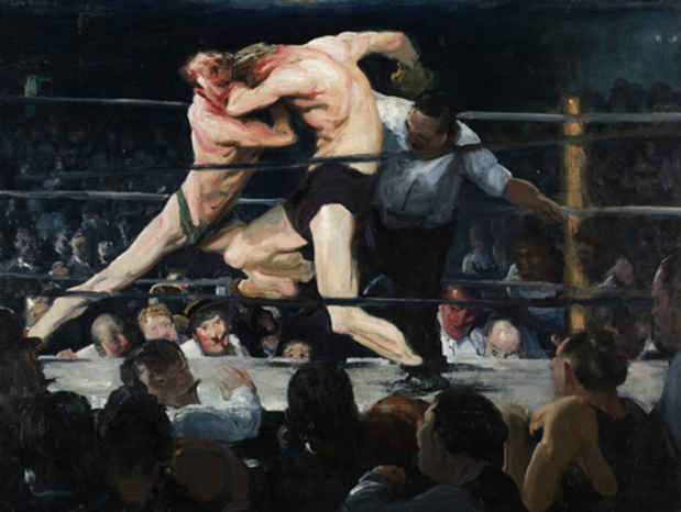 poster for George Bellows Exhibition