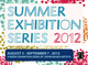 "poster for ""Summer Exhibition Series 2012"""
