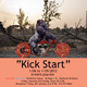 "poster for ""Kick Start"" Exhibition"