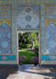 "poster for ""Doris Duke's Shangri-La: Architecture, Landscape, and Islamic Art"" Exhibition"