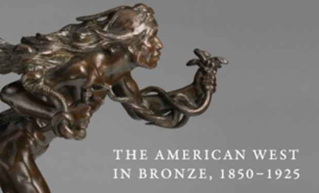 "poster for ""The American West in Bronze, 1850–1925"" Exhibition"
