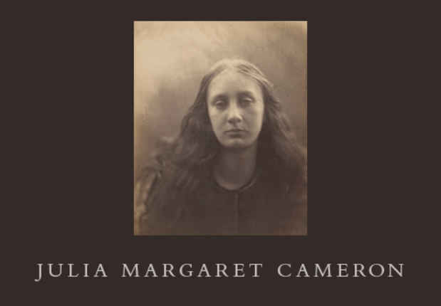 poster for Julia Margaret Cameron Exhibition