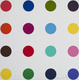 "poster for Damien Hirst ""Spot Woodcuts"""