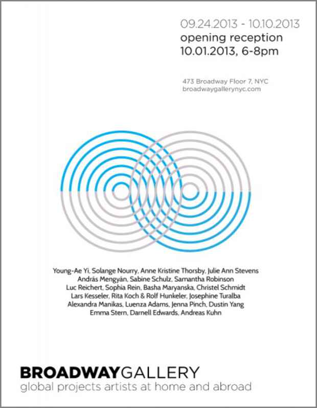 "poster for ""Global Projects Series: October 2013"" Exhibition"