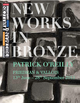 "poster for Patrick O'Reilly ""New Works in Bronze"""