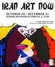 "poster for ""Iran Art Now"" Exhibition"