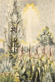 "poster for Charles Burchfield ""American Landscapes"""