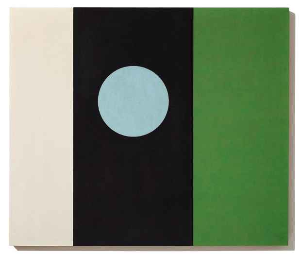 "poster for John McLaughlin ""Paintings 1947 - 1974"""