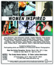 "poster for ""Women Inspired"" Exhibition"